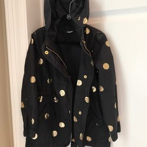 Country Road girls lightweight coat polka dot
